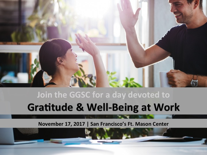 Gratitude and Well-Being at Work